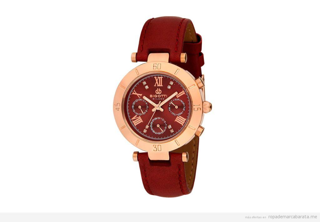 Relojes de piel marca Bigotti Milano baratos, outlet online