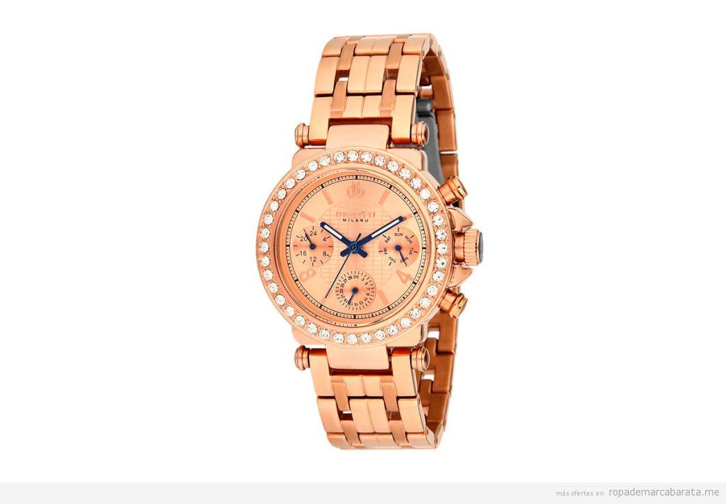 Relojes de acero de mujer marca Bigotti Milano baratos, outlet online 2
