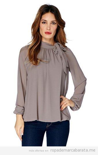 Blusa color topo marca Pop Corn, outlet online