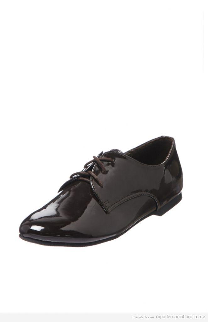Zapatos derbies de marca baratos, outlet online