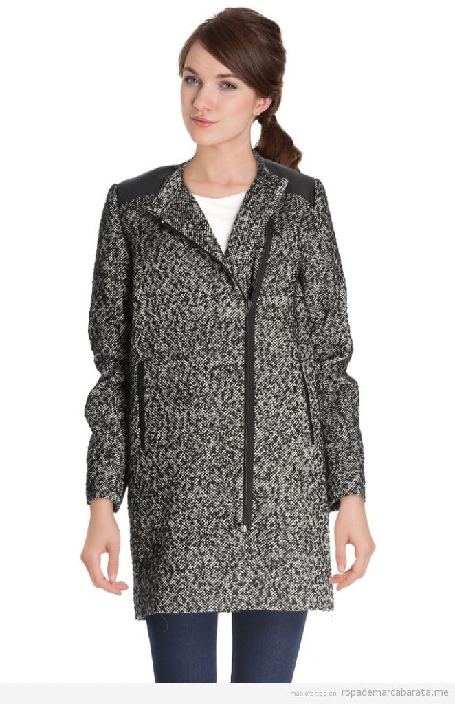 Abrigo lana marca Camaïeu barato, outlet online
