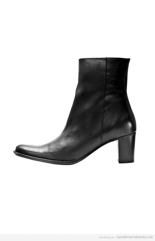 Botines de tacón de mujer de marca Thierry 21, outlet online 2