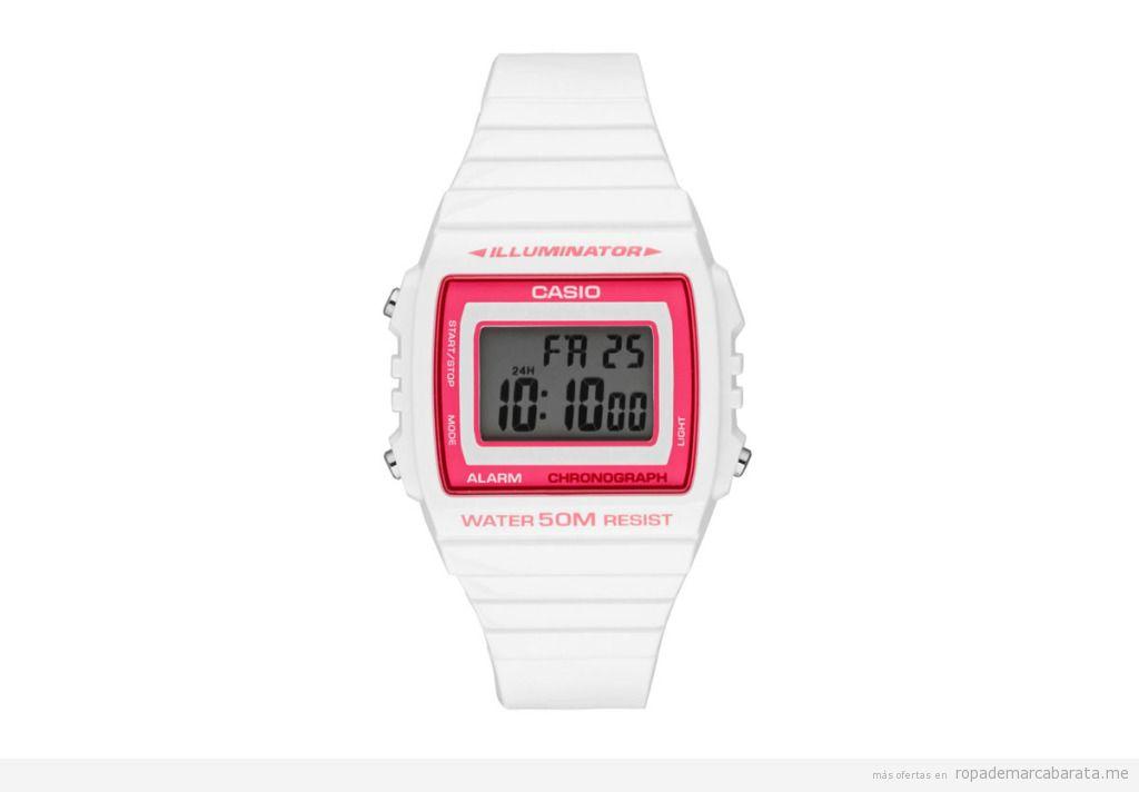 94950cecd729 reloj casio mujer barato