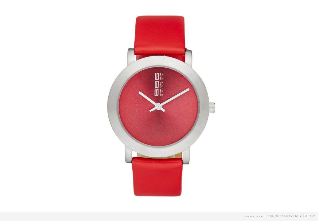 Relojes piel marca 66 Barcelona baratos, outlet online