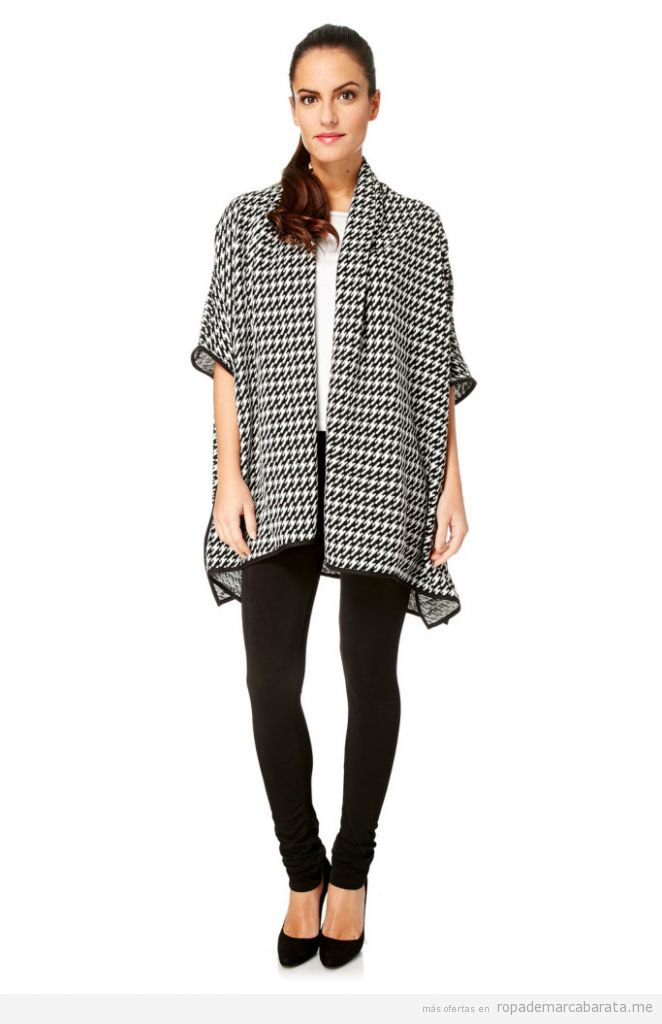 Poncho, Ropa mujer marca Milles Barcelona barata, outlet online
