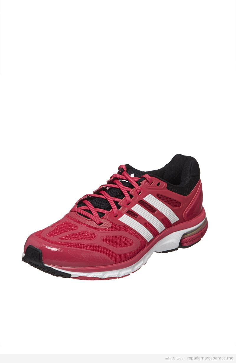 cc32ab998d Zapatillas running mujer marca Adidas baratas, outlet online Zapatillas de  Running Fucsia