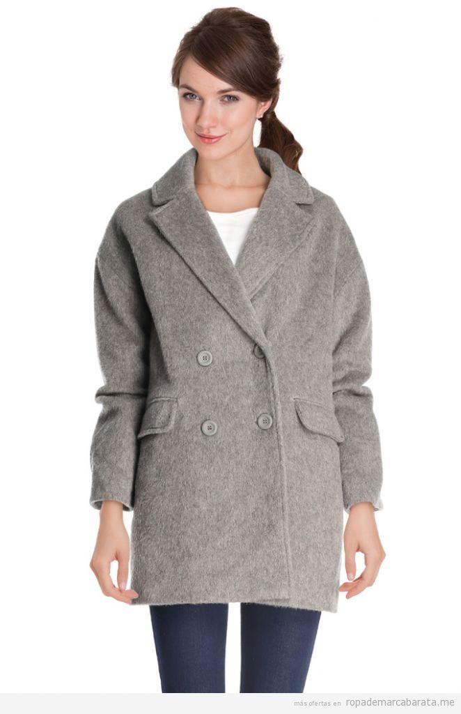 Abrigos lana marca Camaieu baratos, outlet online