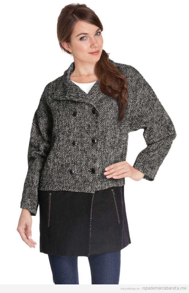 Abrigos lana marca Camaieu baratos, outlet online 3
