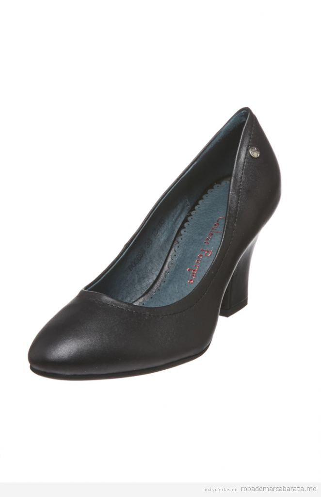 Zapatos tacón  marca Couleur Porpre baratos, outlet