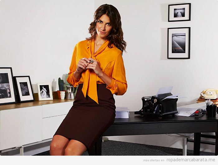 Camisa y falda de tubo marca Weinberg baratas, outlet online