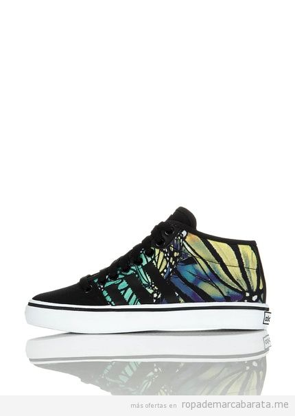 Zapatillas basket marca Adidas print mariposa baratas, outlet