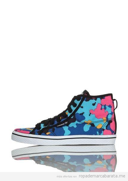 Zapatillas basket marca Adidas de colores baratas, outlet