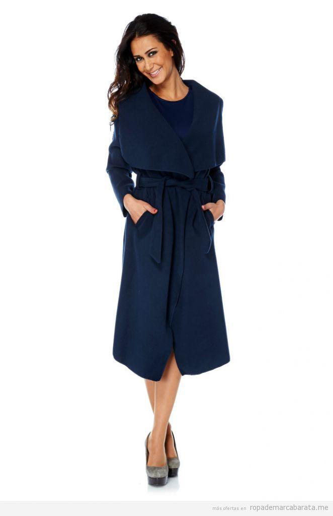 Abrigo mujer marca Saint Germain, barato, outlet online