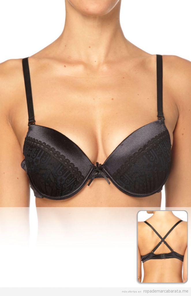 Sujetador push-up marca Torrente Couture barato, outlet