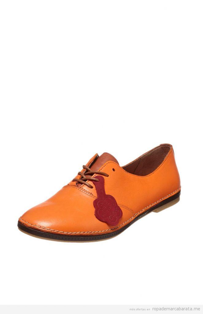 Zapatos derbies piel marca Kickers baratos, outlet