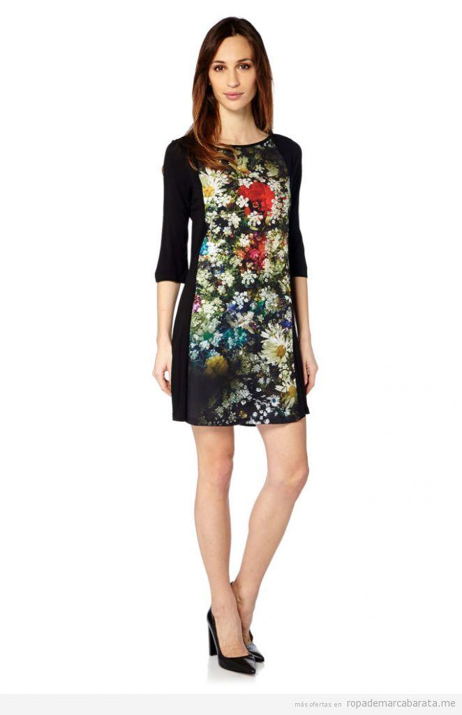 Vestido flores marca Peace & Love barato, outlet online