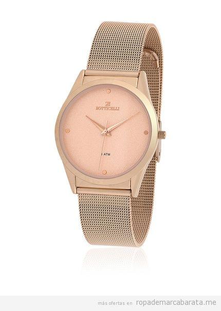 Descuento 71% Relojes mujer acero rosa marca Botticelli baratos