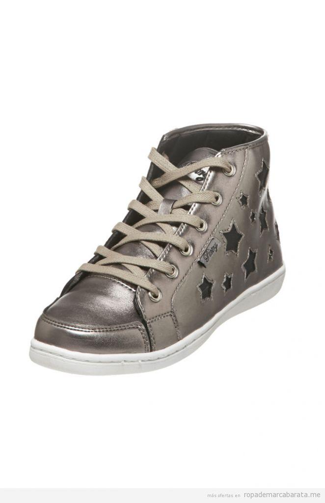Zapatillas caña alta mujer marca pastry & MST baratas, outlet online 3