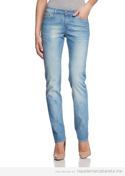 Pantalones vaqueros mujer marca Levi's baratos, outlet 2