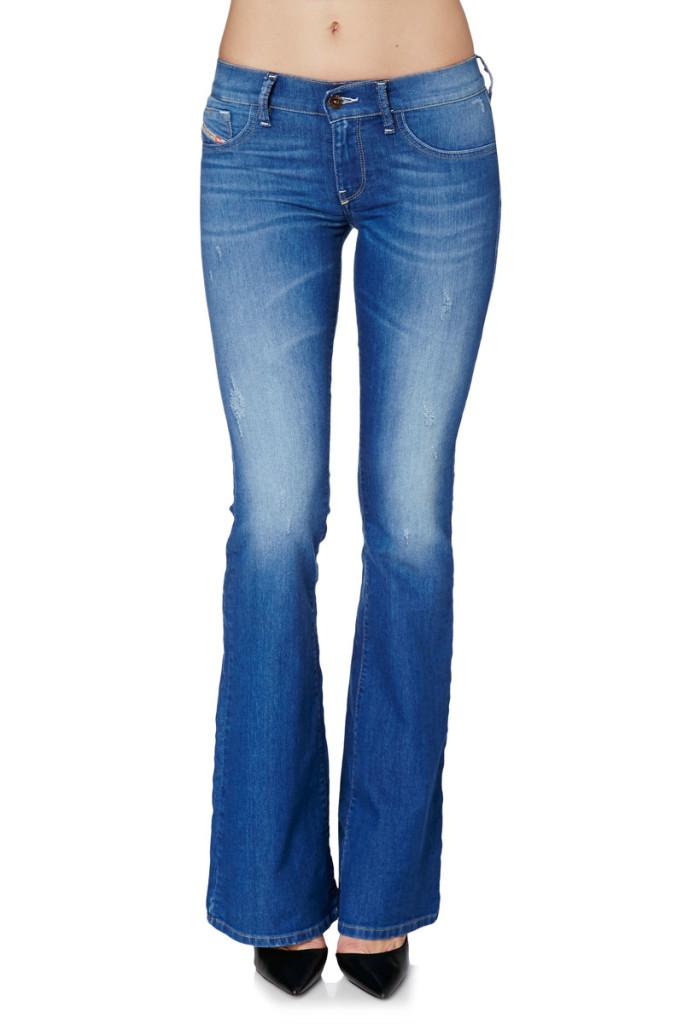 4376ee31d2746 ... Pantalones campana slim mujer marca Diesel baratos