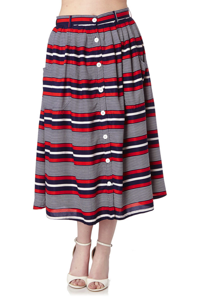 Faldas midi marca Yumi baratas, outlet online