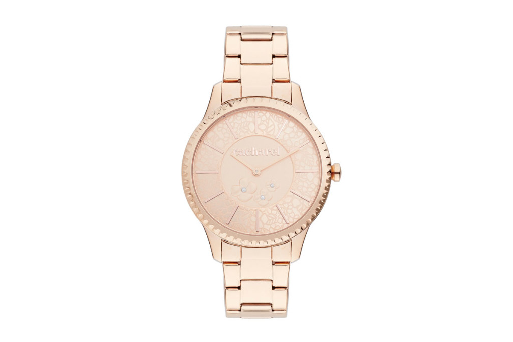 Relojes acero rosa mujer marca Cacharel baratos, outlet