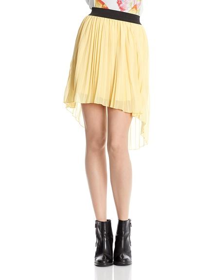 Falda plisada rayas marca Miss Cute barata, outlet online