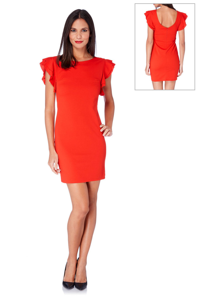 Vestidos rojo marca French Code barato, outlet online