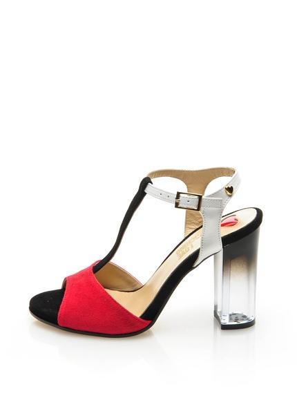 Zapatos tacón marca Love Moschino baratos, outlet online 2