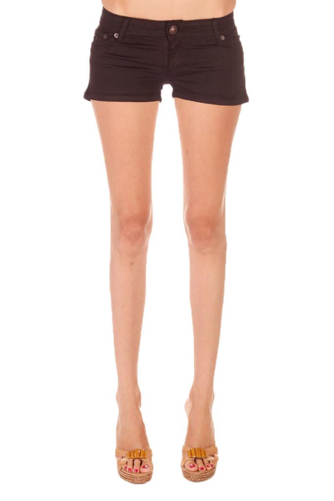Shorts vaqueros color negro marca Lois baratos, outlet
