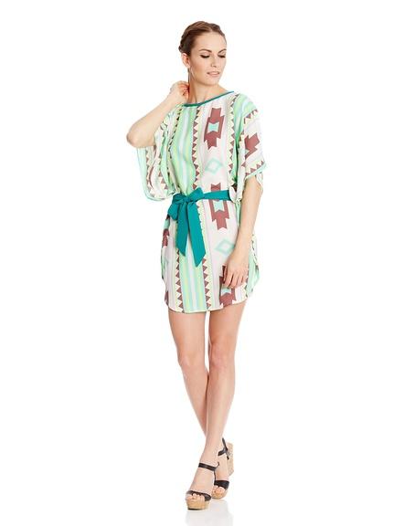 Vestidos print étnico marca HHG baratos, outlet online