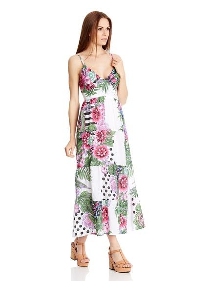 Vestidos print flores marca HHG baratos, outlet online