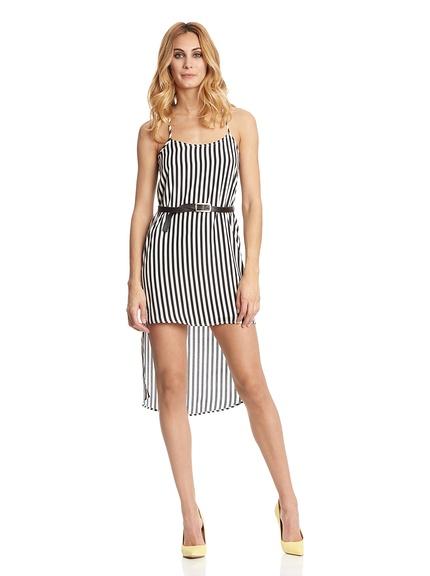 Vestidos rayas verano marca Rare London baratos, outlet online 2