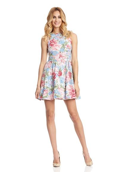 Vestidos flores verano marca Rare London baratos, outlet online 2