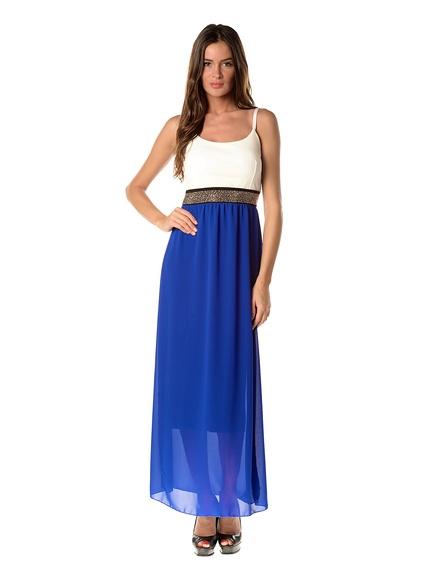 Vestidos largos verano marca La Belle Française baratos, outlet online