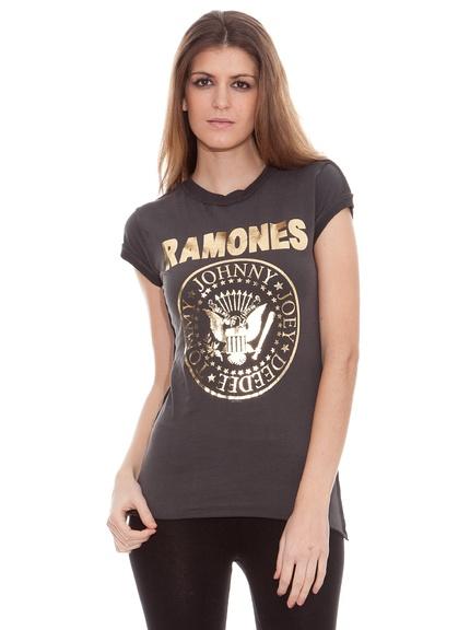 Camisetas Ramones  para mujer, outlet online