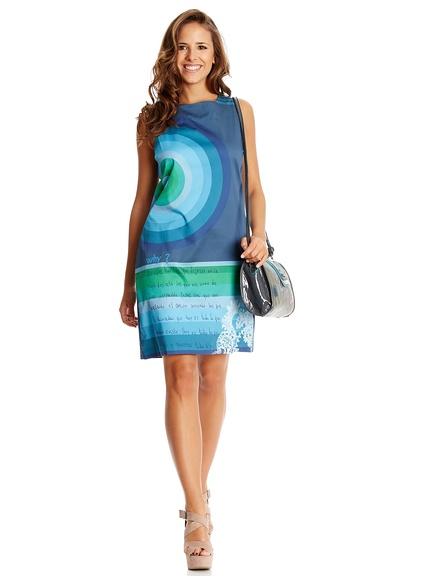 Vestido corto marca Desigual barato, outlet