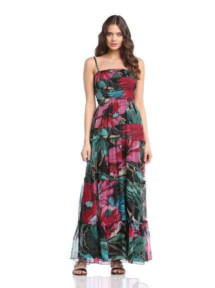 Vestido largo marca Desigual barato, outlet
