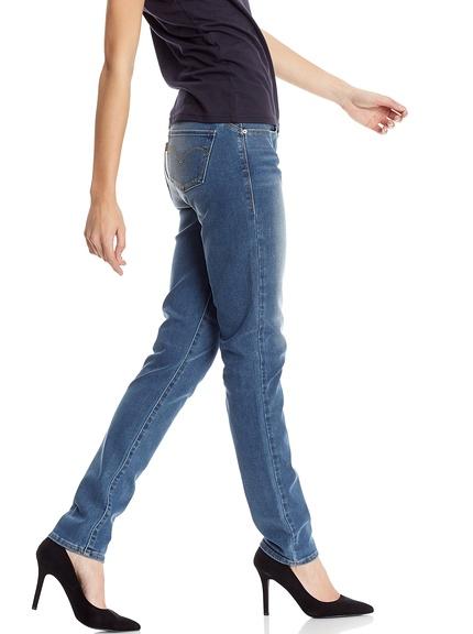 Pantalones vaqueros marca Levi's mujer baratos, outlet 2