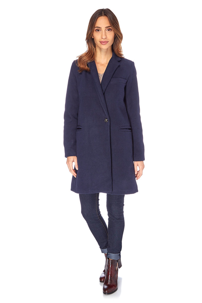 Abrigo oversize mujer, outlet online