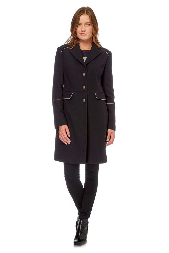 Abrigos lana mujer marca Devernois baratos, outlet 4