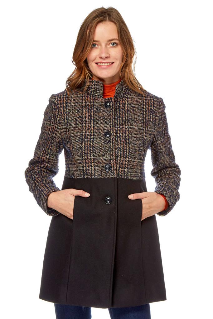 Abrigos lana mujer marca Devernois baratos, outlet 2