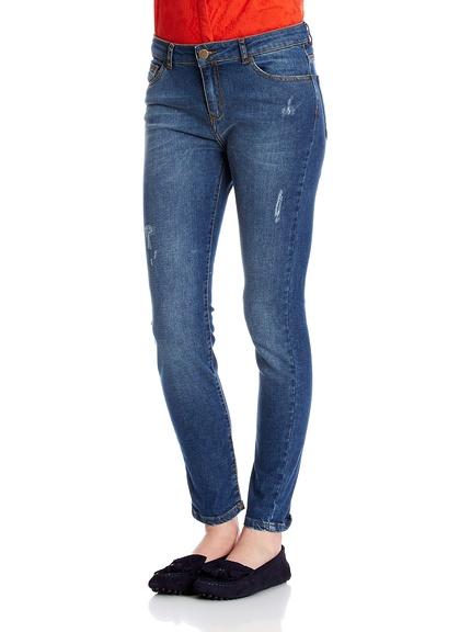 Pantalones tejanos para mujer marca Cortefiel baratos, outlet