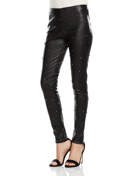Pantalones de piel marca BDBA baratos, outlet