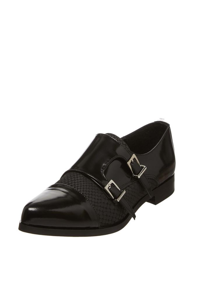 Zapatos derbies mujer marca Eden, outlet