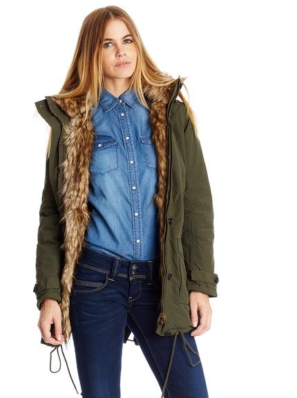 Anoraks y parkas marca Pepe Jeans baratas, outlet online