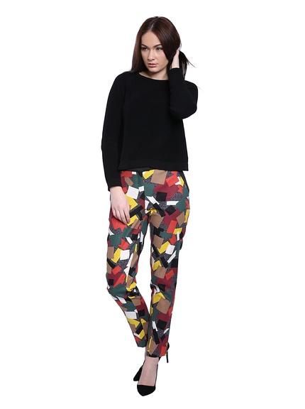 Pantalones mujer marca Vera Ravenna baratos, outlet