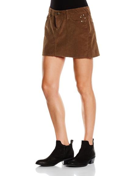Falda de pana marca New Caro barata
