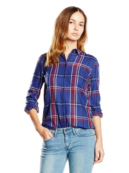 Camisa cuadros marca Levi's mujer, outlet