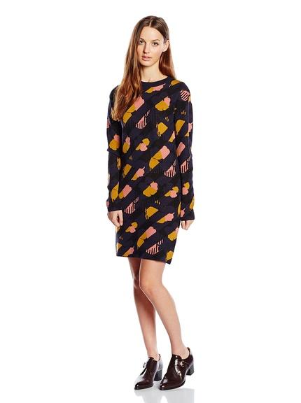 Vestido estampado marca See by Chloe barato, outlet